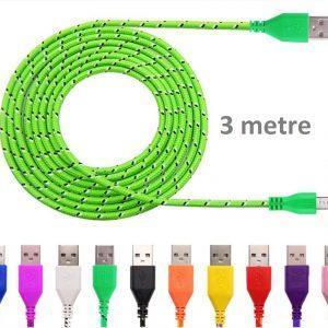 USB kabel 3 metre