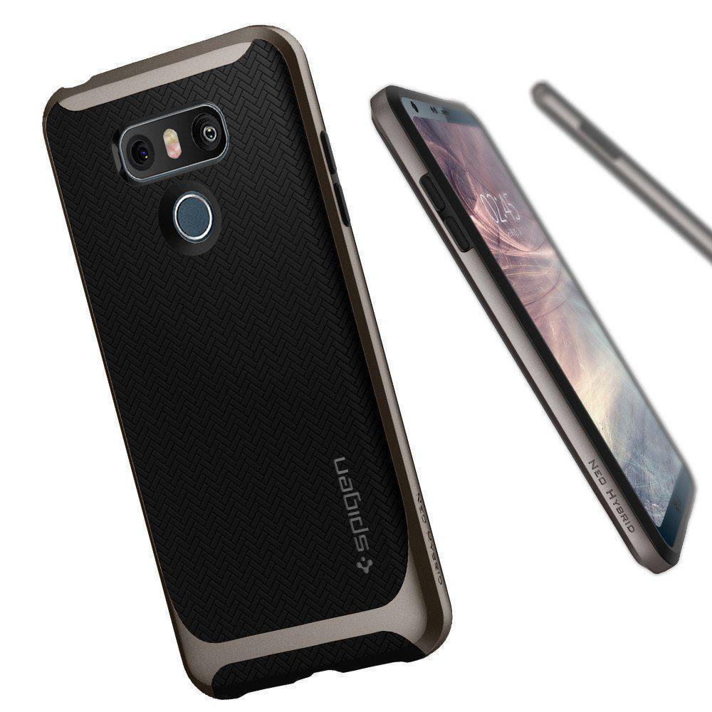 Ovitek Za Lg G6 Spigen Sgp Neo Hybrid Gunmetal Svet Telefonije Crystal Case For G5 Se