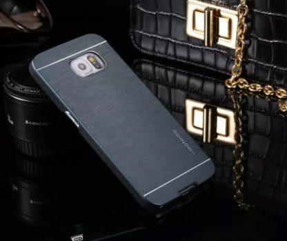 Ovitek za Samsung Galaxy S6 Motomo Dark Blue
