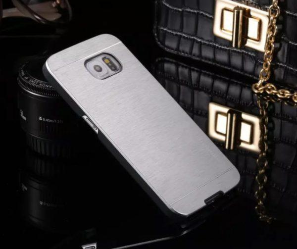 Ovitek za Samsung Galaxy S6 Motomo Silver