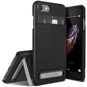 Ovitek VRS Design Simpli Leather za iPhone 7 – Black