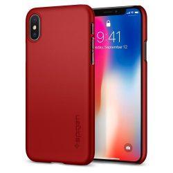 Ovitek SPIGEN THIN FIT za IPHONE X/10 METALLIC RED