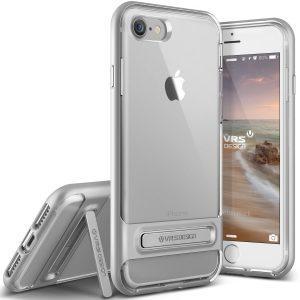 Ovitek VRS Design Crystal Bumper za iPhone 7 – Light Silver